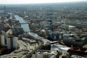 Берлин с высоты 207 метров