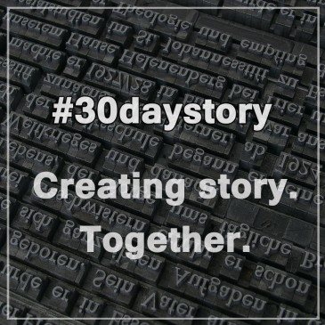 #30daystory: Проект по совместному созданию истории