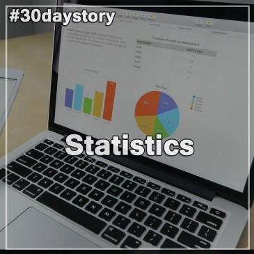 Статистика и интересные факты проекта #30daystory