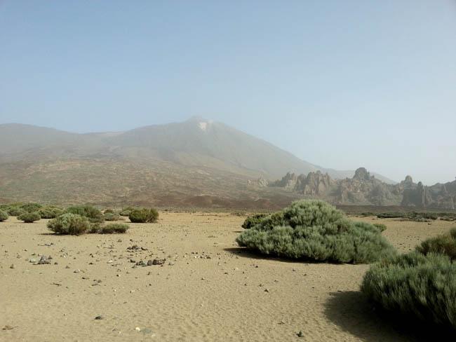 Вулкан Тейде и его окружение