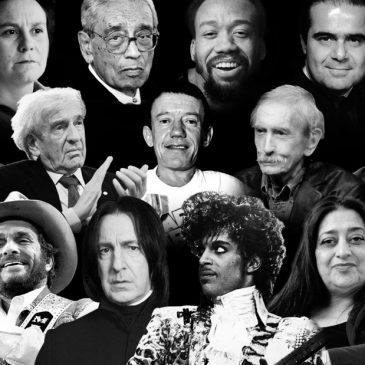 Смерти знаменитостей в 2016 году и почему это хорошо