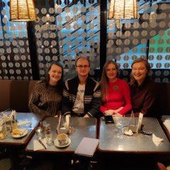 Творческий ланч — итоги первой живой встречи в Риге
